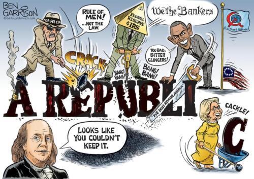 a republic ben franklin