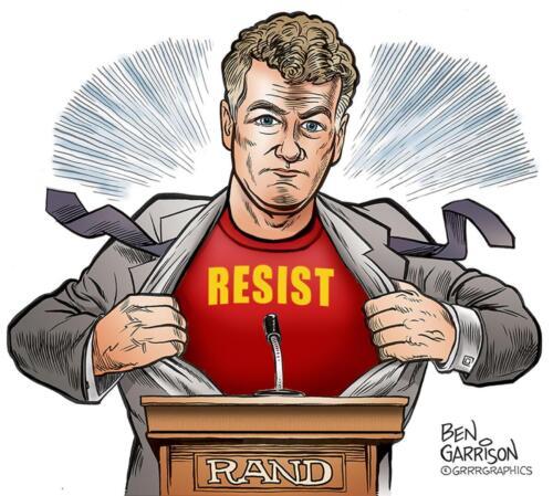 rand paul resist